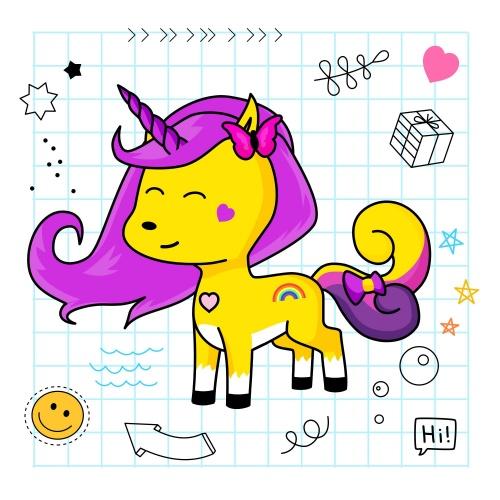 Best friend of Lili who designs amazing unicorns.