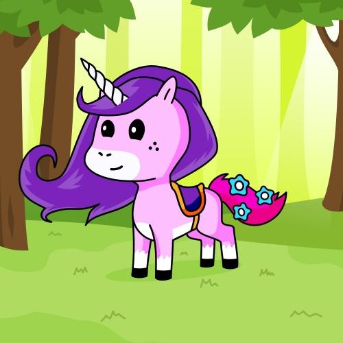 Best friend of Thea who designs amazing unicorns.