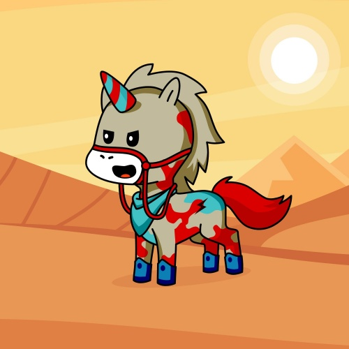 Best friend of Unicorn Geed who designs amazing unicorns.