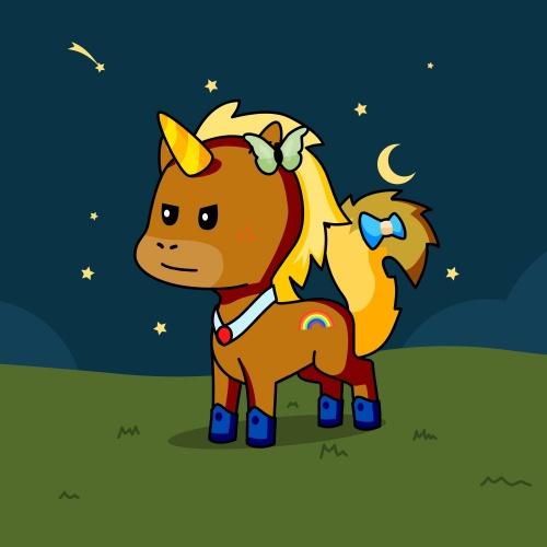 Best friend of gabby who designs amazing unicorns.