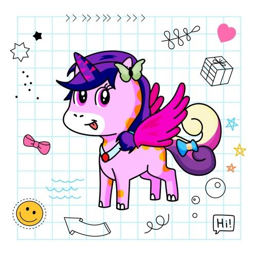 Best friend of Ananya Shukla who designs amazing unicorns.