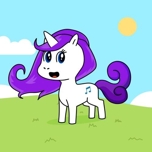 Best friend of pony who designs amazing unicorns.