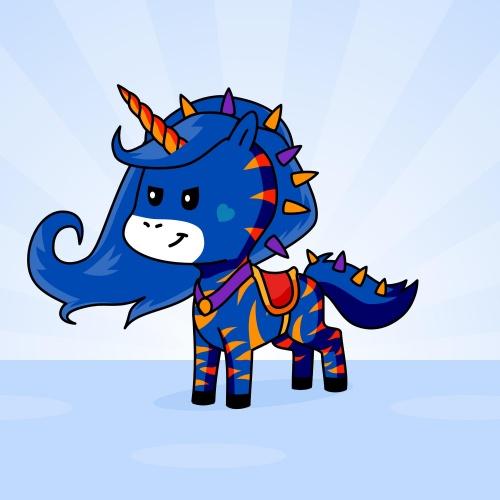Best friend of Fighter who designs amazing unicorns.