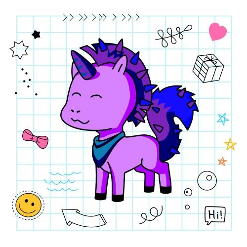 Best friend of Olivia who designs amazing unicorns.