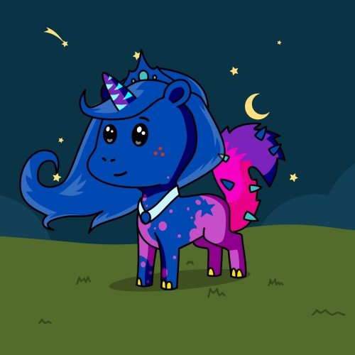 Best friend of Taylor who designs amazing unicorns.