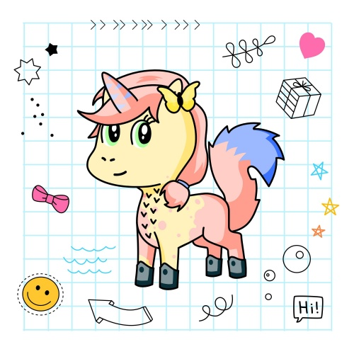 Best friend of Lily10 who designs amazing unicorns.