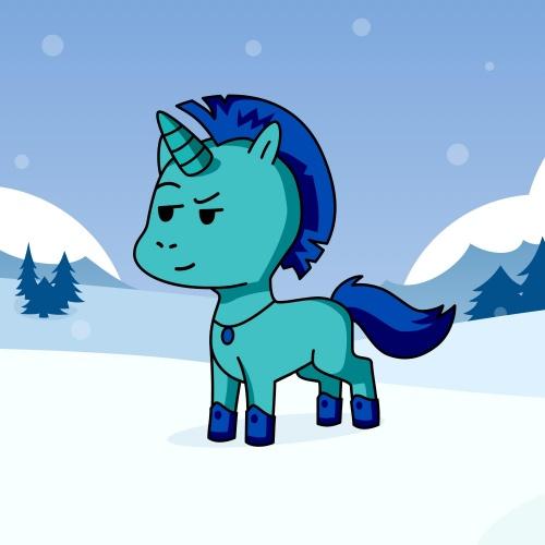 Best friend of kostas who designs amazing unicorns.