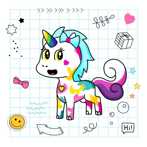 Best friend of angie who designs amazing unicorns.