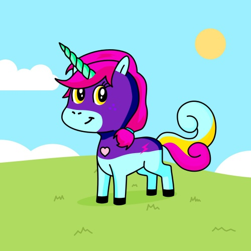 Best friend of Molly who designs amazing unicorns.