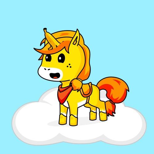 Best friend of Anjana who designs amazing unicorns.