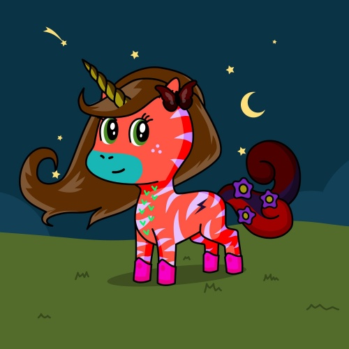 Best friend of sidney who designs amazing unicorns.