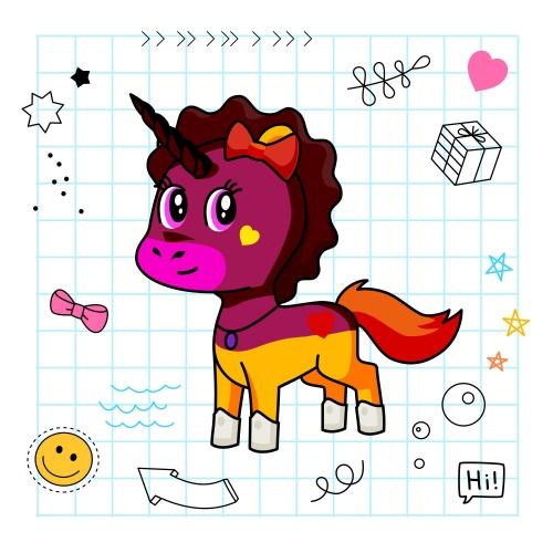 Best friend of janani who designs amazing unicorns.