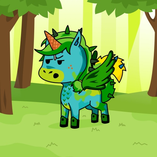 Best friend of Dumpster who designs amazing unicorns.