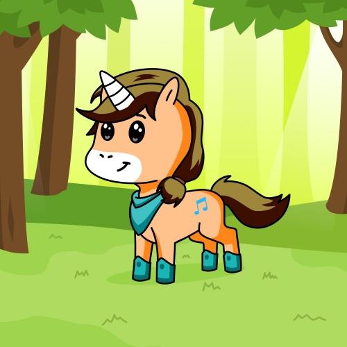 Best friend of anvi who designs amazing unicorns.