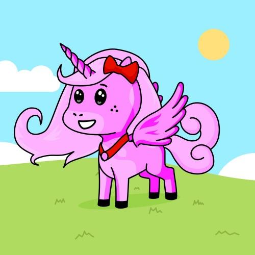 Best friend of Abi who designs amazing unicorns.