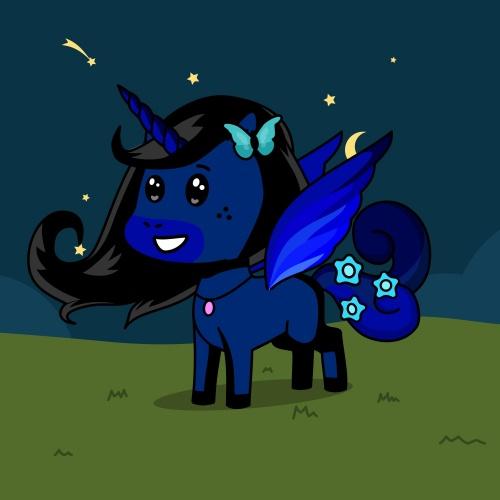 Best friend of midsun who designs amazing unicorns.