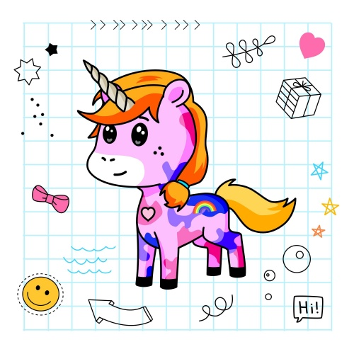 Best friend of Rahma who designs amazing unicorns.