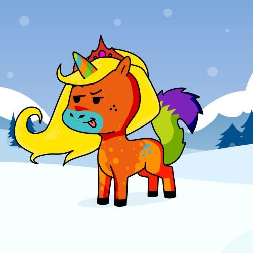Best friend of buatycorn who designs amazing unicorns.