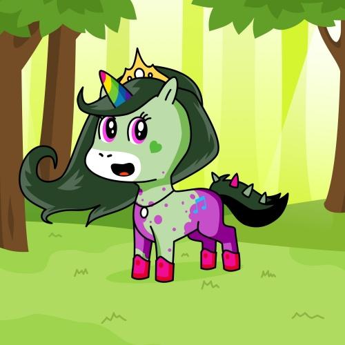Best friend of Duraty who designs amazing unicorns.
