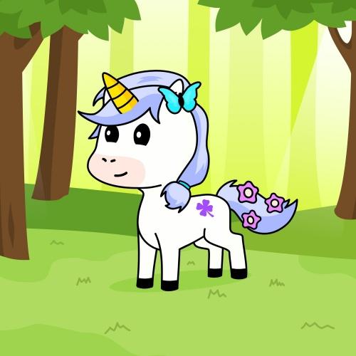 Best friend of Maddy who designs amazing unicorns.