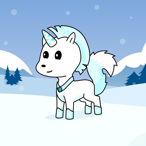 Best friend of J who designs amazing unicorns.