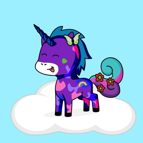 Best friend of vales who designs amazing unicorns.