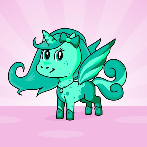 Best friend of Skylar who designs amazing unicorns.