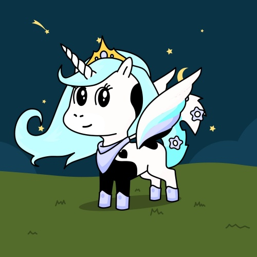 StarWolf ( Queen Of Mystic Isle's, Mother Of Cloudy, Big Sister of MoonShade)
