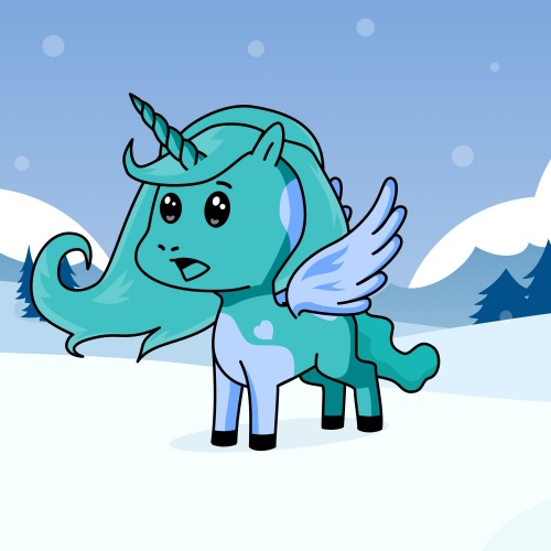 Best friend of Mads the unicorn is going to be a ice unicorn now who designs amazing unicorns.