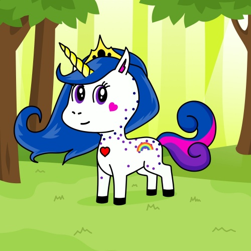 Best friend of Riyaa who designs amazing unicorns.