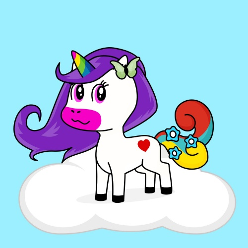 Best friend of NIA who designs amazing unicorns.