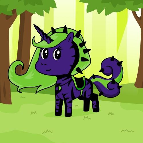 Best friend of calico who designs amazing unicorns.