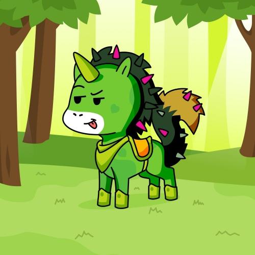 Best friend of klity the endie who designs amazing unicorns.