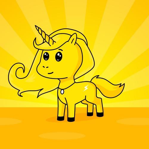 Best friend of mallory who designs amazing unicorns.