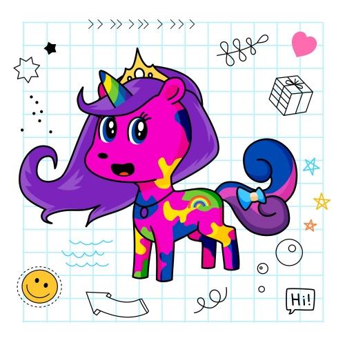 Best friend of geoff who designs amazing unicorns.