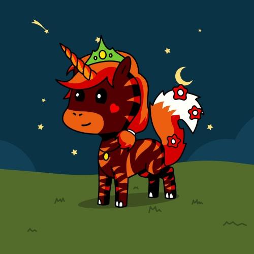 Best friend of Alicon who designs amazing unicorns.