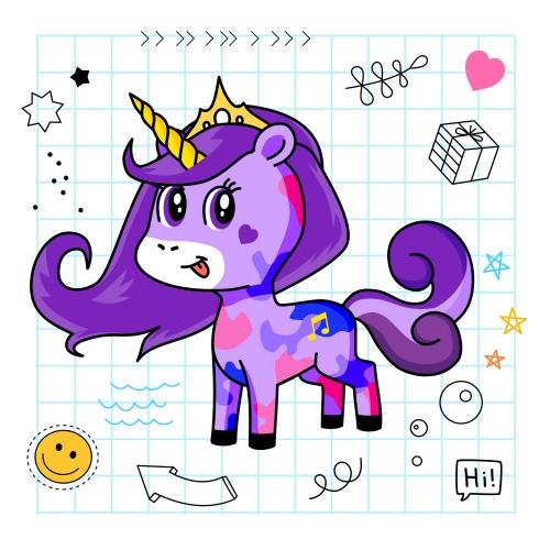 Best friend of Emm who designs amazing unicorns.