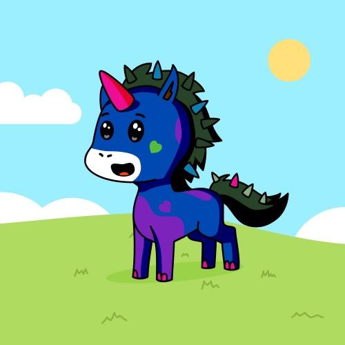 Best friend of m who designs amazing unicorns.