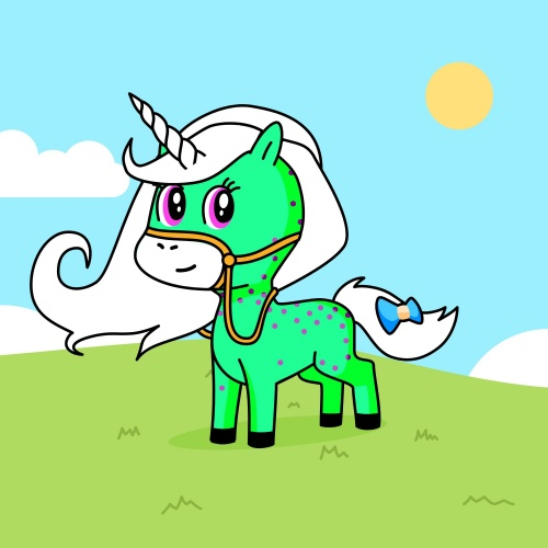 Best friend of qud  e oseu who designs amazing unicorns.