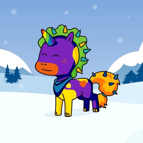 Best friend of MRMR who designs amazing unicorns.