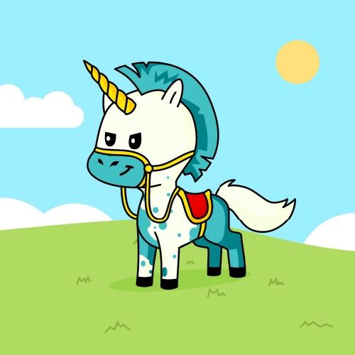 Best friend of Z who designs amazing unicorns.