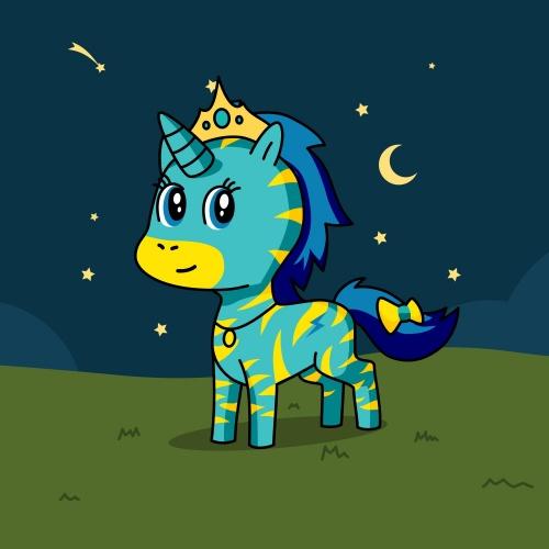 Best friend of Za'liya  who designs amazing unicorns.
