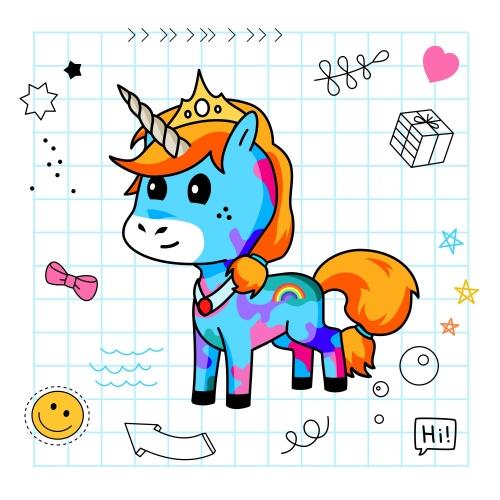Best friend of TONES who designs amazing unicorns.