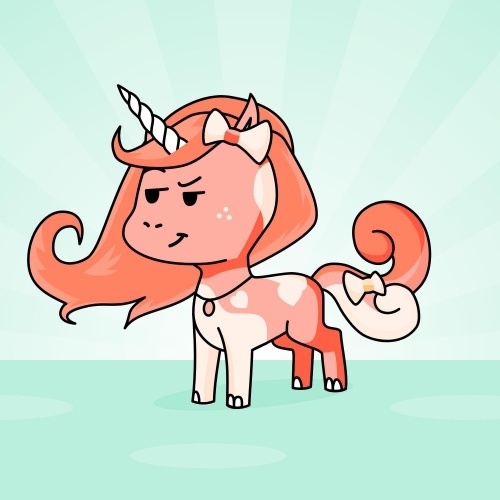 Best friend of Dariana who designs amazing unicorns.
