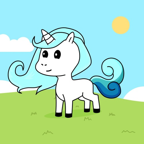 Best friend of anna who designs amazing unicorns.