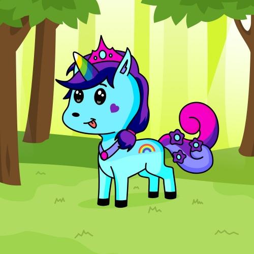 Best friend of Uu who designs amazing unicorns.