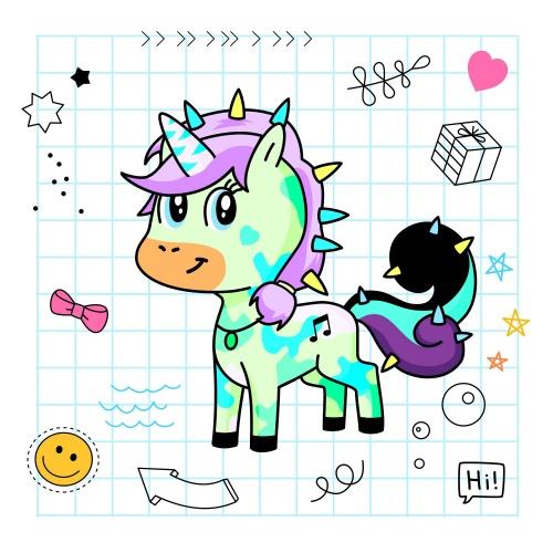Best friend of Uni ViCkY who designs amazing unicorns.