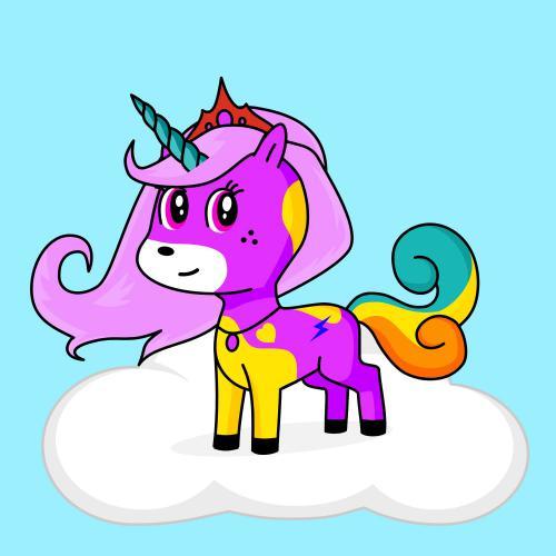 Best friend of honey who designs amazing unicorns.