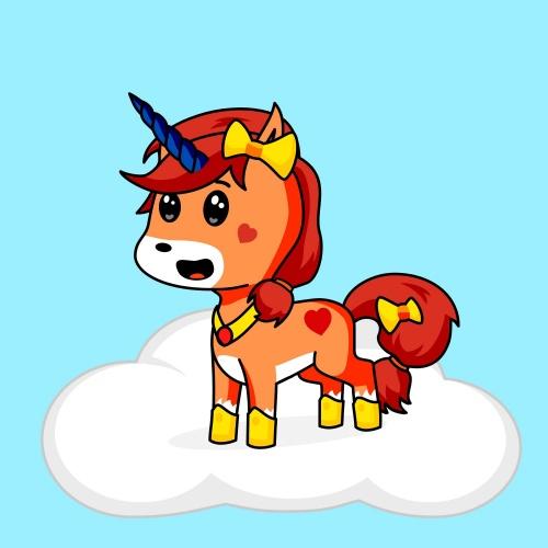 Best friend of seweety who designs amazing unicorns.