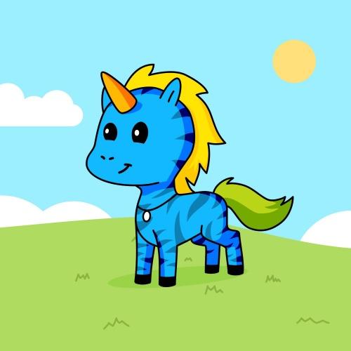 Best friend of Rishim who designs amazing unicorns.